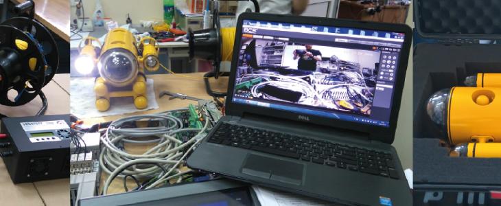 Studenci PG stworzyli robota podwodnego