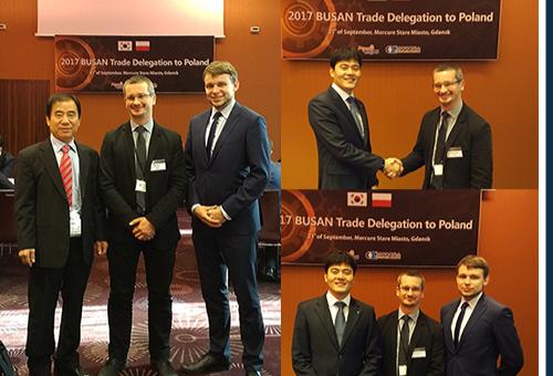 Spotkanie B2B z przedstawicielami Południowokoreańskiego Przemysłu Stoczniowego
