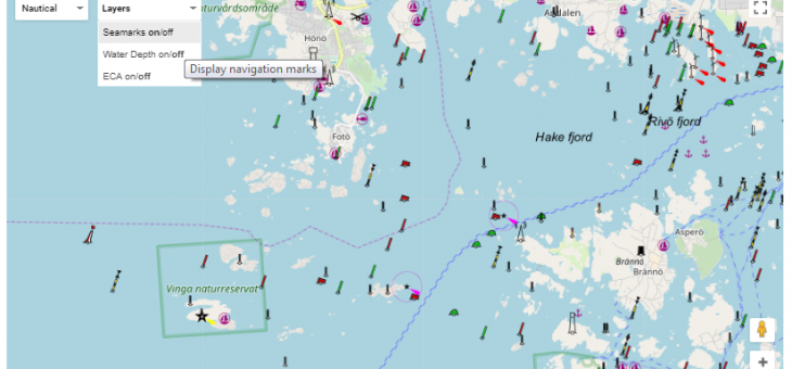 New functionalities of e-Vessel Tracker (EVT) application