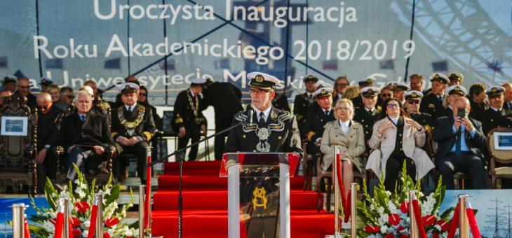 Inauguracja roku akademickiego na Uniwersytecie Morskim w Gdyni