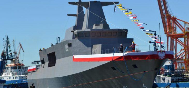 Uroczyste przekazanie ORP Ślązak Marynarce Wojennej RP – 8 listopada 2019 r.