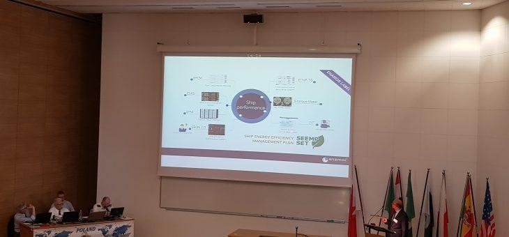 Enamor podczas International Frigate Working Group (IFWG)