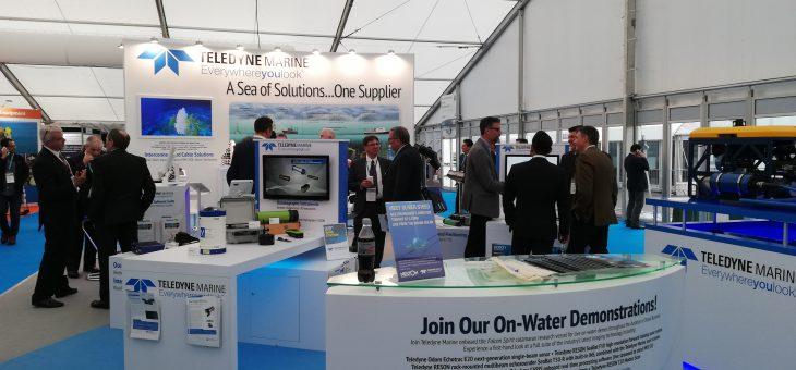 Zaawansowane technologicznie Autonomiczne Pojazdy Podwodne prezentowane podczas Southampton Ocean Business 2019