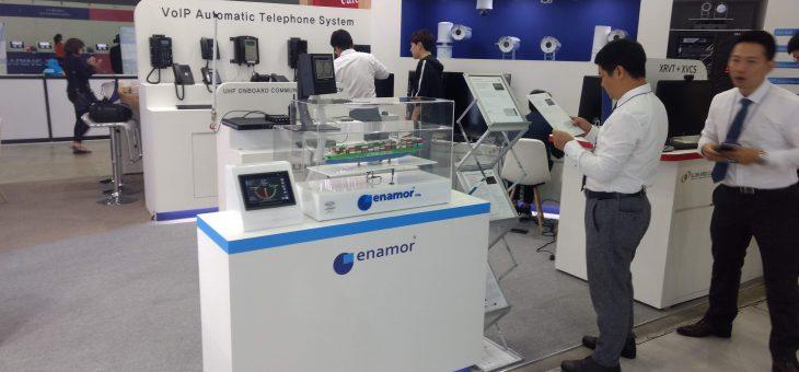 Systemy ENAMOR prezentowane podczas VI WYSTAWY KORMARINE W BUSAN, KOREA