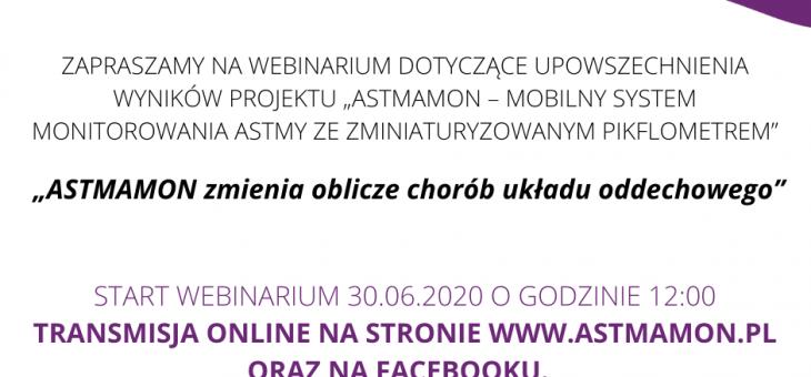 ASTMAMON – Enamor zaprasza na webinarium poświęcone wynikom projektu