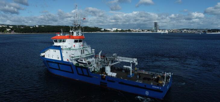 Inteligentne systemy Enamor wspomagające efektywną eksploatację na jednostce ZODIAK II dla UM w Gdyni
