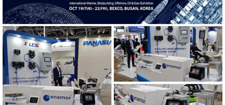 Konferencja KORMARINE z udziałem ENAMOR. Busan /19-22 października 2021